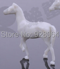 Animal model / model horse / scene with King Accessories /different specifications /sandbox molding material/DIY craft materials(China)