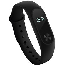 Original Xiaomi MiBand 2 Mi Band Smart Bracelet Fitness Wristband OLED Display Heart Rate Monitor IP67 Waterproof Touch Button