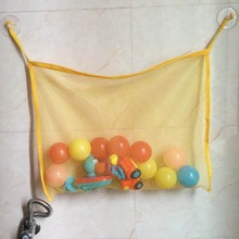 Baby Kids Bath Tub Toy Tidy Cup Bag Mesh Bathroom Container Toys Organiser Bag Net Swimming Pool Accessories(China)