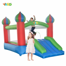 YRAD Bouncy Castle Mini Jumping House for Kids Oudtoor Toys Inflatable Slide with Blower Party Toy Special Offer for Middle East