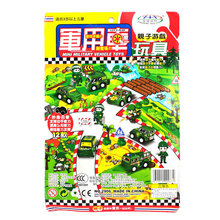 12pcs Scale Models Military Mini Cars Mini Military Vehicle Pull Back Car Toddler Child Family Fun Toy 3 years +(China)