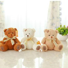 fast shipping 20cm patch teddy bear plush toy stuffed soft bear doll baby toy Birthday gift for kis