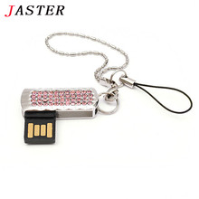 Fashion Jewelry Crystal USB flash pen drive 8GB 16GB 32GB metal diamond memory stick beauty key chain gifts for girl lover