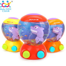 Baby Toys Bathroom Bath Toy Fish Shark Water Game Toy Handhed Game Players Toys for Children Birthday & Festival Xmas Gifts(China)