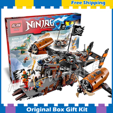80Bela 06028 Ninja Misfortunes Keep Building Blocks Jay Lloyd Toys Compatible lego - Cheery baby store