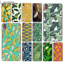 banana leaf pattern Tropical Leaves Fruit Case for Lenovo Vibe K3 K4 K5 K6 Note A1000 A2010 A5000 S90 S850 S60 X3 Lite ZUK Z2 P1