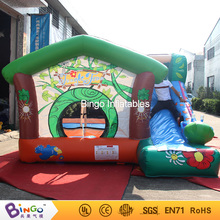 inflatable slide combos jumper with giraffe 4*4m China factory direct sale-BG-G0474 toy(China)