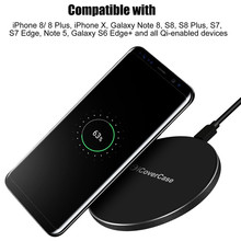 Buy Qi Wireless Charger Case Samsung Galaxy S9 Plus Power Bank Wireless Chcarger Chargeur Safe Charging IPhone X 8 Plus Case for $8.54 in AliExpress store