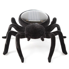 Hot Sale Educational Solar Powered Spider Robot Toy Solar Powered Toy Gadget Gift Dorp Shipping #1212(China)