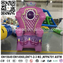 Inflatable King Sofa Inflatable Imperial Crown Chair For Kids
