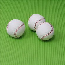"Low-cost student training with softball Hard style softball 2.75"" New White Base Ball Baseball Pet dog playing ball(China)"