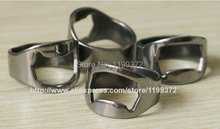 DHL FEDEX Free shipping 5000pcs/lot Stainless Steel Finger Ring Bottle Opener Bar Beer tool Openers Mini 24mm 22mm 20mm 18mm