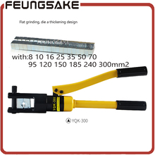 Hydraulic Crimping Tool Compression Plier Hydraulic Crimping plier YQK-300 RANGE 8-300mm2 Hydraulic Plier,ship via DHL(China)