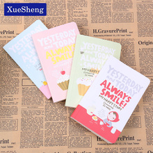 Cute Notebook Red Hat Girl Agenda Week Plan Diary Day Planner Journal Record Stationery Office School Supplies(China)