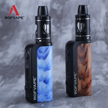 Buy Rofvape Mist 60W Electronic Cigarette 3.5ml 2200mAh Huge Vapor Box Mod Vape Pen Zinc-alloy Resin Design Hookah Pen for $29.91 in AliExpress store