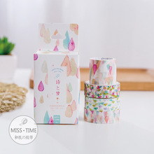 4 pcs/pack Poetry and Dream washi tape 3+1 paper masking stickers Tapes for notebook decoration Stationery School supplies 6323