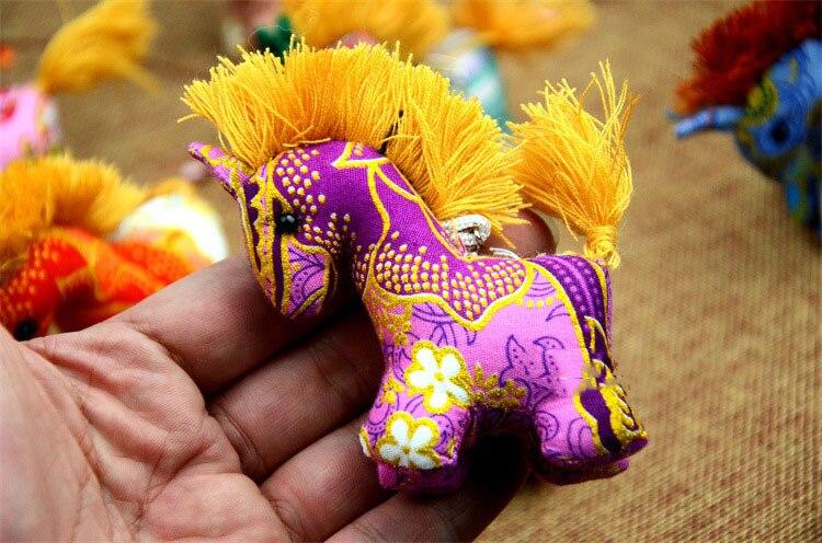 Colorful Unicorn key Chain
