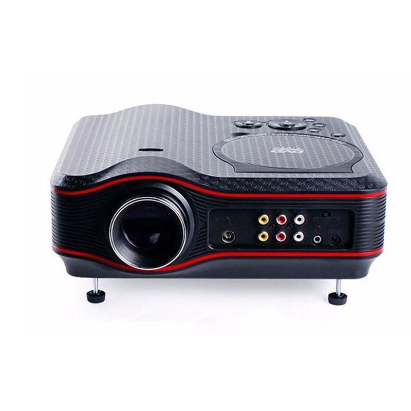 2017 New 3D TV Projector 1000 Lumens 800*600P HD DVD Game Multimedia Player Proyector LED LCD Home Cinema Business Teaching TL91(China (Mainland))