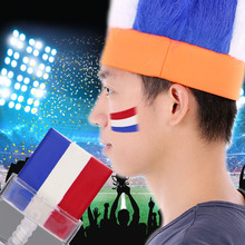 6 Country 2016 European Cup 3-in-1 Cream Painting for Football Match Soccer Fans Sports Fans Flag Face Paint German/France/Italy