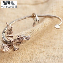 YouMap Jewelry Gothic Punk Style Silver Plated Alloy Dragon Ear Cuff Earring Wrap C9R1C