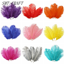10 Pcs 15-20CM Beautiful cheap Ostrich Feathers for DIY Jewelry Craft Making Wedding Party Decor Accessories Wedding Decoration