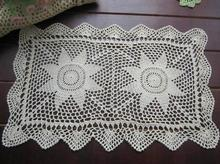 Lace Cotton Crochet tablecloth white Table cloth towel nappe doilies Square DIY set Tablecloth Cover for home wedding decoration