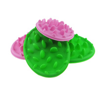 Dog No Gulp Slow Feeders Collapsible Bowl Anti Choke Feeding Travel Dish Cat Bloat Eating Food Skidproof Silicone Pet Supplies