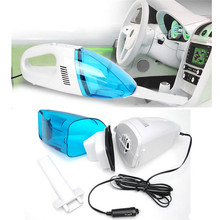 NEW 12V Mini Portable Car Vehicle Auto Recharge Wet Dry Handheld Vacuum Cleaner