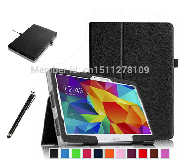 For Samsung Galaxy Tab 4 10.1 inch Tablet T530 T531 T535 case Ultra Slim PU Vegan Leather Flip Stand Cover Folio Case<br><br>Aliexpress