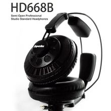 New Superlux HD668B Headphones Semi-open Dynamic Professional Studio Monitoring DJ Headset Auriculars Free Shipping
