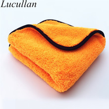 16 IN x16 IN 800GSM Ultra Plush Premium Car Cleaning Cloth Super Soft Microfiber Waterless Rinseless Car Wash Towel(China)
