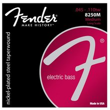 Fender 8250's Nickel Plated Taperwound Bass Guitar Strings, Medium, 4/5 strings Available