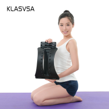 KLASVSA Back Stretcher Massager Neck Waist Pain Relief Magic Support Massage Home Muscle Stimulator Relaxation Fitness Equipment(China)