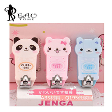 1Pcs Panda Cat Bear Design Portable Cute Cartoon Nail Clipper Nail Cutter Manicure Tools For Girl And Kids 5.5*2.5cm
