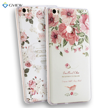 Gview For Huawei Nova Soft TPU 3D Relief Painting Stereo Feeling Back Cover Case For Huawei nova Women Phone Bag Hot Coque(China)