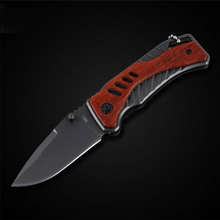 PEGASI X61 Folding Knife Titanium Stainless Steel Pocket Tactical Outdoor Camping Knife