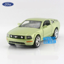 Free Shipping/1:38 Scale/2006 Ford Mustang GT/Educational Pull back Model/Diecast Metal toy car/For Collection/Gift