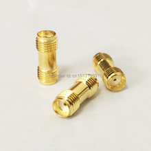 1pc SMA Female Jack to Female Jack RF Coax Adapter convertor Straight goldplated NEW wholesale(China)