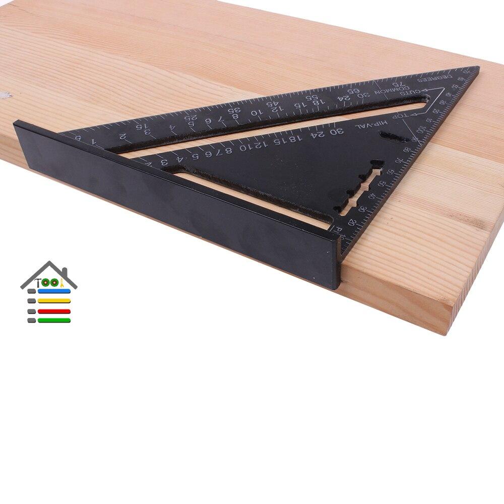 Aluminun Alloy Triangle Ruler Angle Ruler (6)