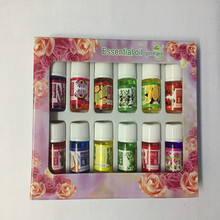 12 bottles 3ml water-soluble oil, pure plant essential oils 12 kinds of flavor, fragrance lamp humidifier necessary(China)
