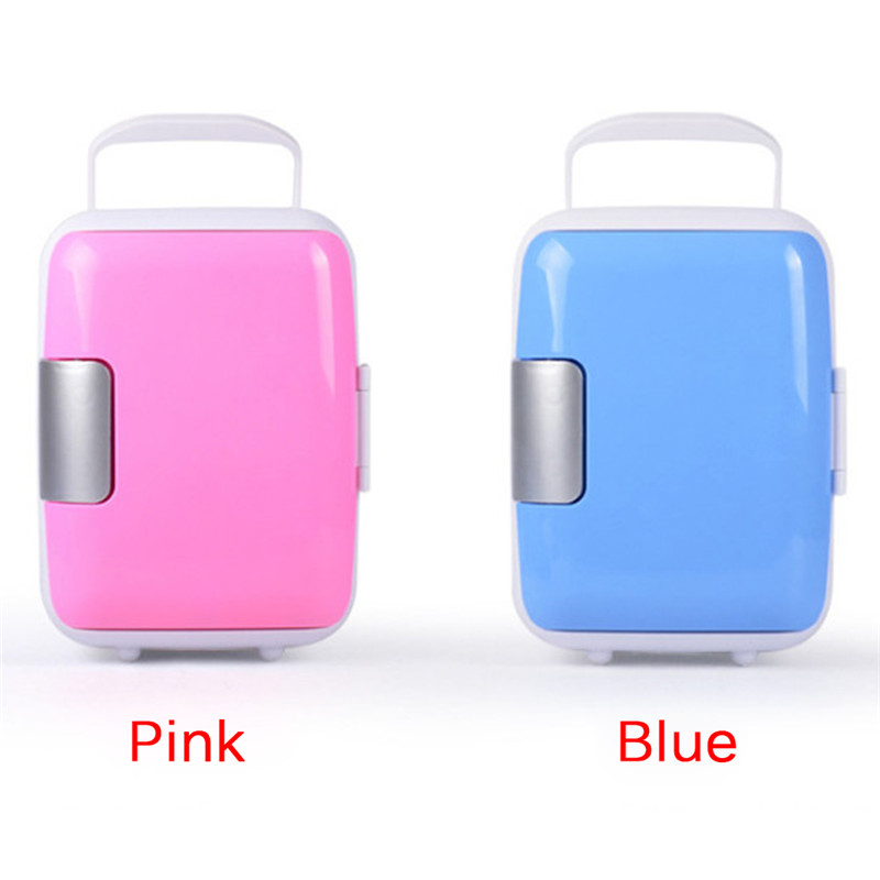 Car Refrigerator Usb Freezer Portable Fridge Electric Mini Home 4L Safe-Material Dual-Use title=