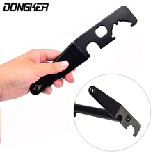 DONKER Tactical Armorer Wrench for Castle Nut A1/A2 Muzzle Brake Extension Tube Gunsmith Barrel Install/Removal Tool