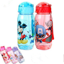 400ml Eco-friendly PP Kid Bickiepegs baby kettle baby cartoon water bottle children Straw Bottle Children kettle sports bottle