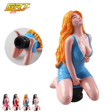 GRT - Sexy Girl Car Accessories Sexy Lady Car Truck Manual Gear Stick Shift Lever Knob Shifter Universal Gear Shift Knob Gift