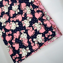 90x140cm  2 Colors Japanese Kawaii Hello Kitty Fabric Kids Girls Fabrics Cotton Polyester Thick Canvas Handmade Material