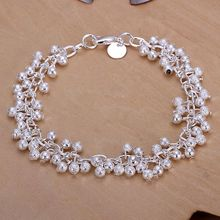 H232 925-sterling-silver bracelet, 925 jewelry silver plated fashion jewelry Purple Bracelet /apfajgma bmuakeba