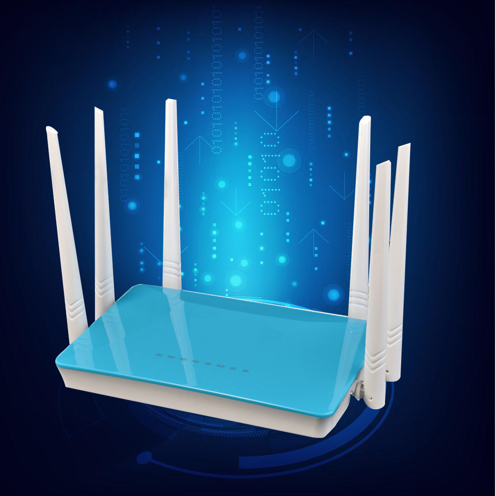 High Power 300mbps 64M Wireless Router Strong Signal Wifi Repeater WDS Booster Extender Through Walls 6*5dbi Antenna Router<br><br>Aliexpress
