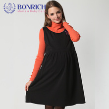 2017 Warm Dress Flora Emb Sleeveless Fashion Print interlining Pleats Dress High Quality Winter Women's elegant gorgeous Beading(China)