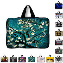 "Van Gogh Tablet Sleeve Case Mini PC Laptop Bag For 7 9.7 11.6 13.3 14.4"" 15.4 15.6 inch Computer Handbag For Asus HP Acer Lenovo(China)"
