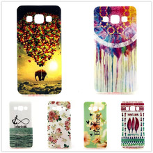 "Owl Tower Flag TPU Silicone Soft Case For Samsung Galaxy A5 A5000 A500 5.0"" Back Skin Cover Cell Phone Protect ShockProof Bag"